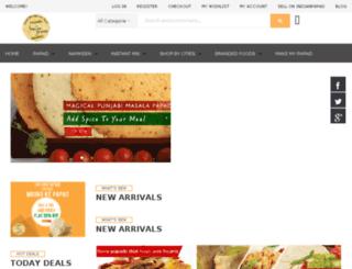 indianpapad.com screenshot