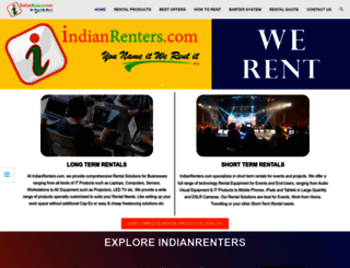 indianrenters.com screenshot