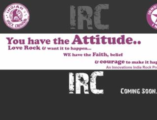 indianrockcarnival.com screenshot