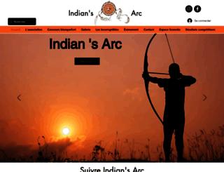 indiansarc.fr screenshot