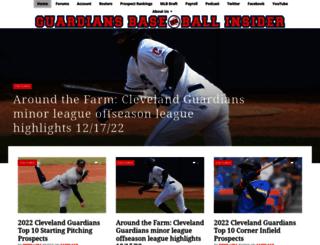 indiansbaseballinsider.com screenshot
