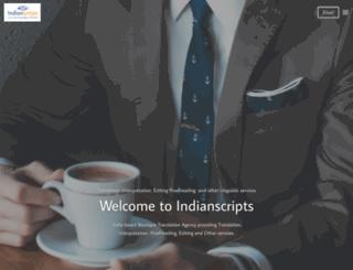 indianscripts.com screenshot