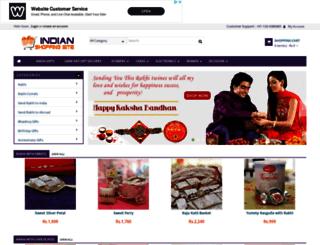 indianshoppingsite.com screenshot