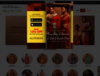 indiansilkhouseagencies.com screenshot