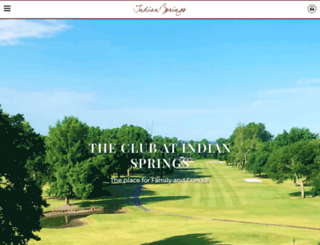 indianspringsclub.com screenshot