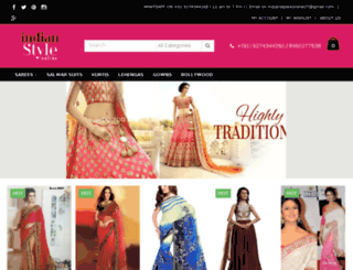 indianstyleonline.com screenshot