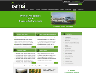 indiansugar.com screenshot