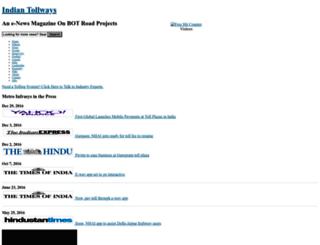 indiantollways.com screenshot