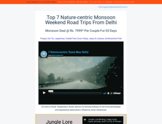 indianwildliferesorts.com screenshot
