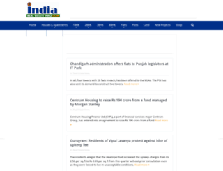 indiarealestateinfo.com screenshot