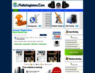 indiaregisters.com screenshot