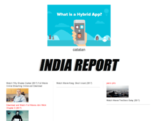 indiareport.com screenshot