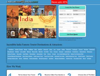 indiatourquotes.com screenshot