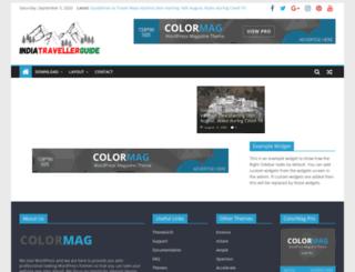 indiatravellerguide.com screenshot
