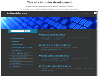 indiawebdev.com screenshot