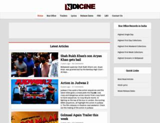 indicine.com screenshot