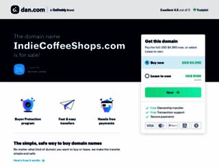 indiecoffeeshops.com screenshot