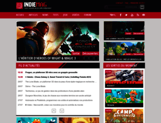 indiemag.fr screenshot