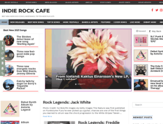 indierockcafe.com screenshot
