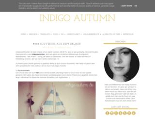 indigo-autumn.de screenshot