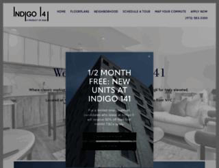 indigo141.com screenshot