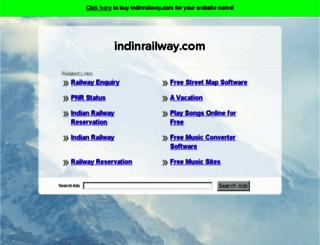 indinrailway.com screenshot