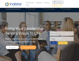 indistar.org screenshot