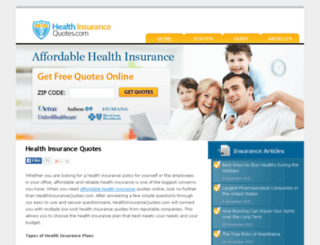 individual-health-insurance-quote.com screenshot