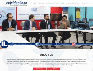 individualland.com screenshot