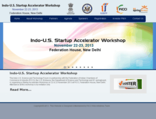 indo-us-acceleratorworkshop.com screenshot