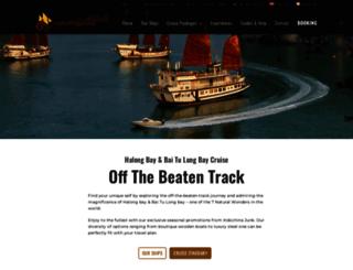 indochina-junk.com screenshot