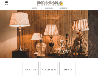 indodanlampshades.com screenshot