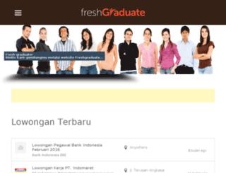 indofreshgraduate.com screenshot
