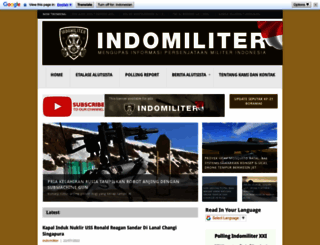indomiliter.com screenshot
