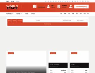 indonesia.world-estate.com screenshot