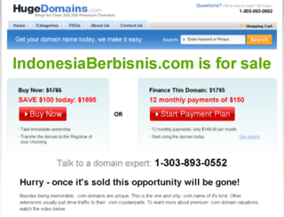 indonesiaberbisnis.com screenshot