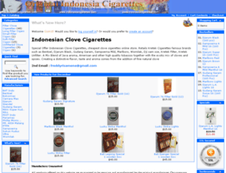 indonesiacigarettes.com screenshot