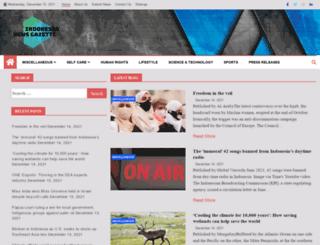 indonesianewsgazette.com screenshot