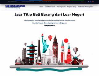 indoshopaholics.com screenshot