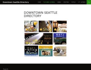 indowntownseattle.com screenshot