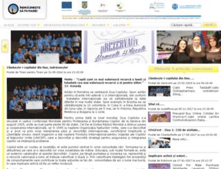 indraznesc.ro screenshot