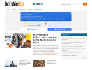industriahoje.com.br screenshot