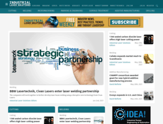industrial-lasers.com screenshot