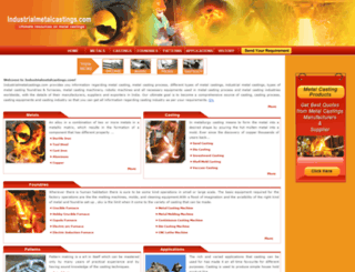 industrialmetalcastings.com screenshot