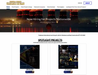 industrialprojectsreport.com screenshot
