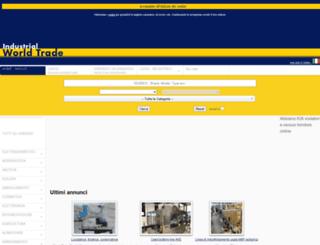 industrialworldtrade.it screenshot
