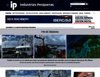 industriaspesqueras.com screenshot