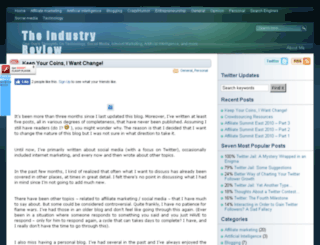 industryreview.org screenshot