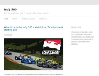 indy500live.net screenshot