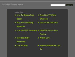 indy500livetv.com screenshot